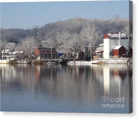 First Day Of Spring Bucks County Playhouse Canvas Print