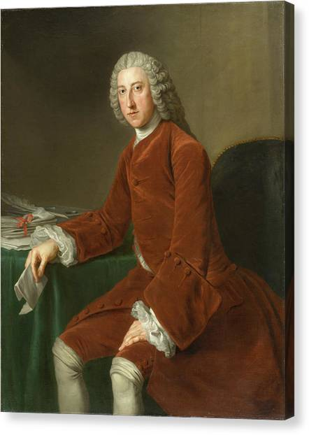 Chatham Canvas Print - First Earl Of Chatham by MotionAge Designs