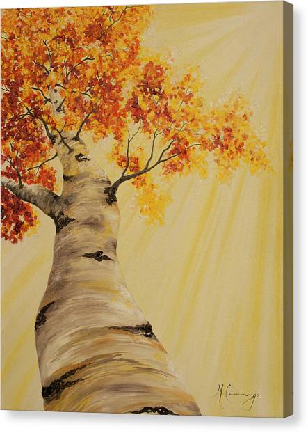 First Fall Light Canvas Print
