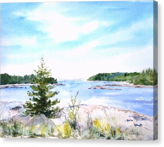 First Impressions, Maine Canvas Print