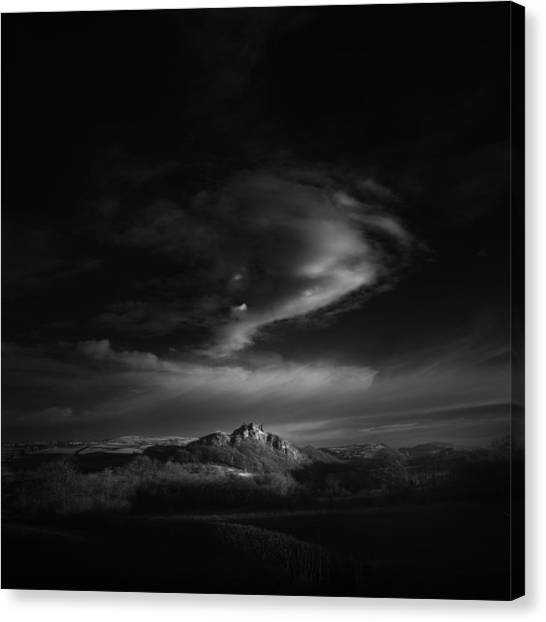Medieval Canvas Print - First Light by Andy Lee