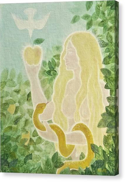 First Mother Canvas Print by Bernadette Wulf