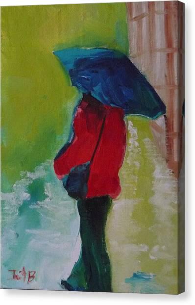 First Rain Canvas Print by Irit Bourla