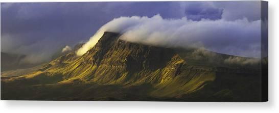 Scotland Canvas Print - First Sunshine by Pierre Destribats