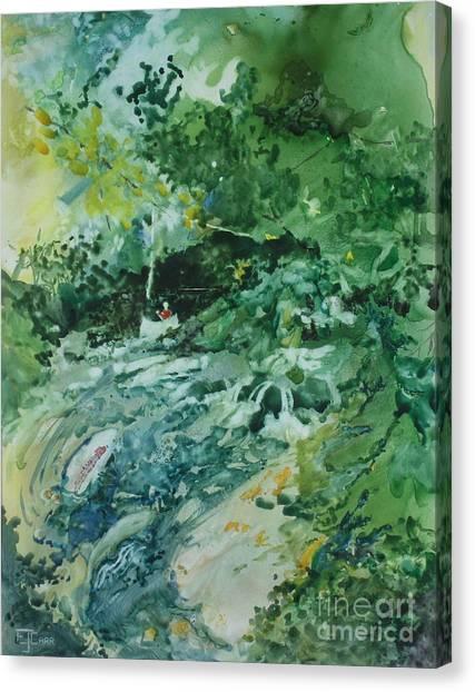 Fish Ahead Canvas Print