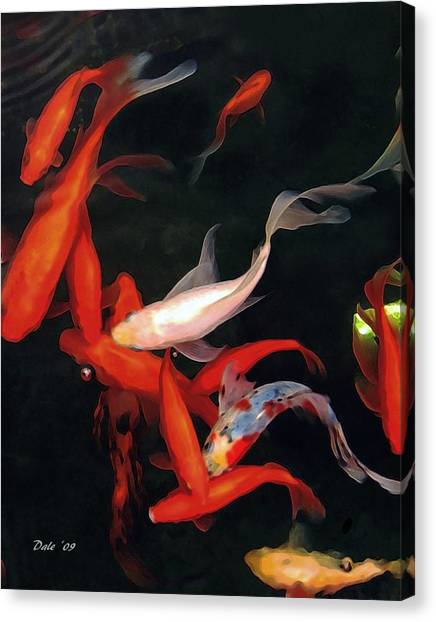 Fish Ballet Canvas Print