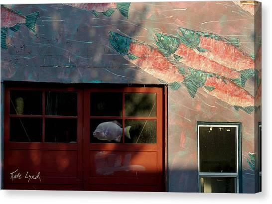 Fish Door Canvas Print