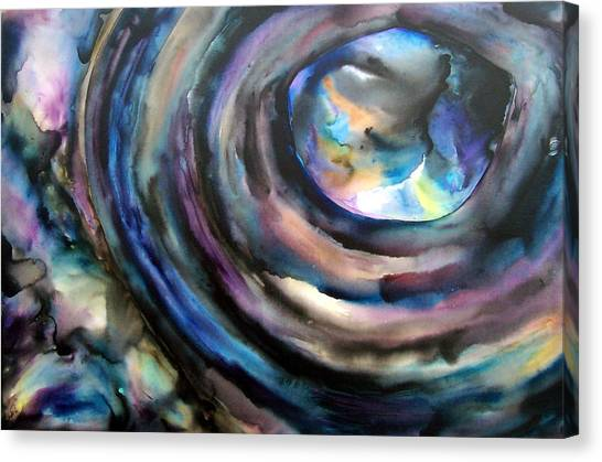 Fish Eye Canvas Print by Christy  Freeman