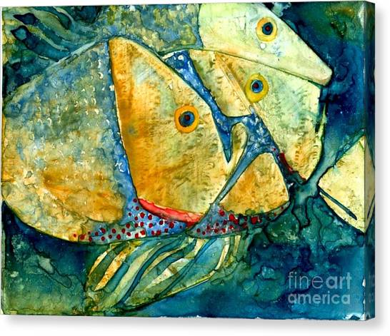 Fish Friends Canvas Print