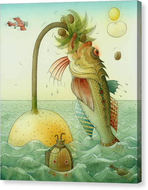 Fish Canvas Print by Kestutis Kasparavicius