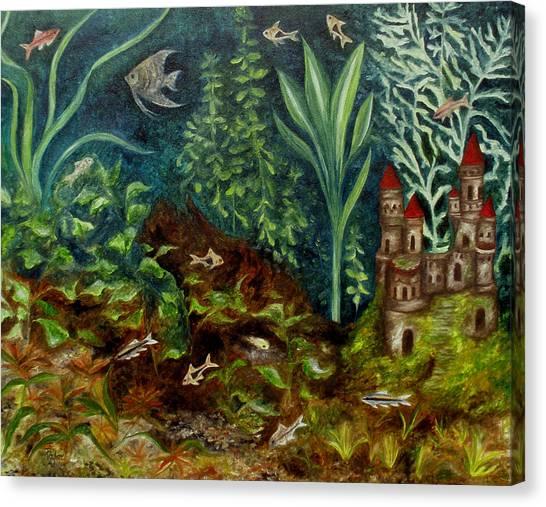 Fish Kingdom Canvas Print