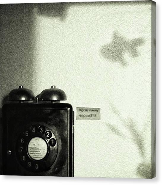 Aquariums Canvas Print - Fish Phone #telephone #fish #shadow by Rafa Rivas