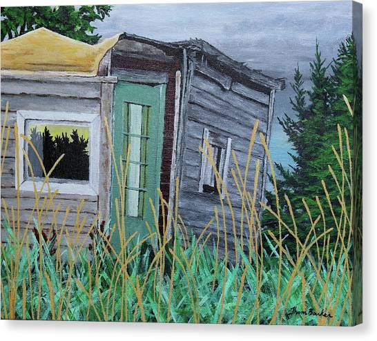 Fish Shack Canvas Print