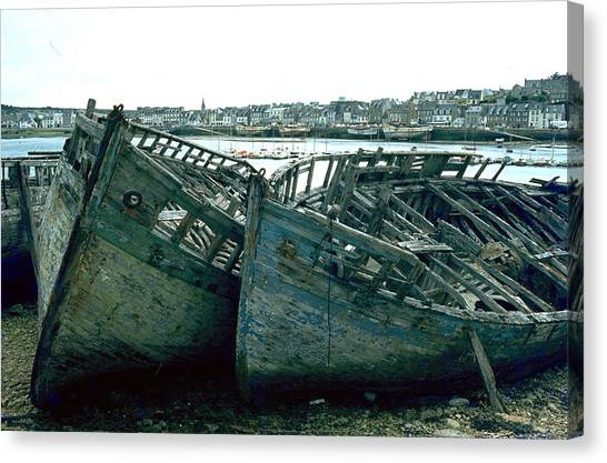 Fisher Boats Canvas Print