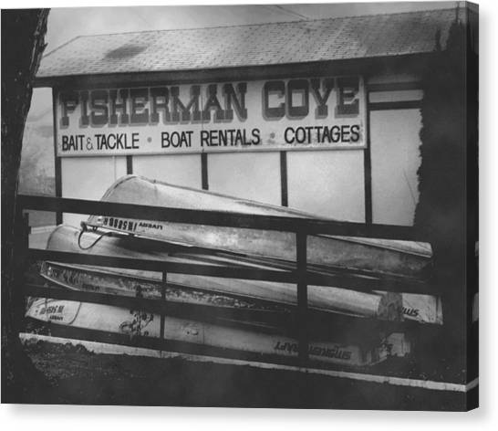 Fisherman Cove Canvas Print