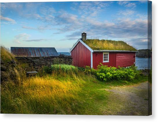 Fisherman House Canvas Print