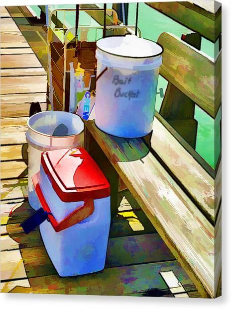 Fisherman's Buckets Canvas Print