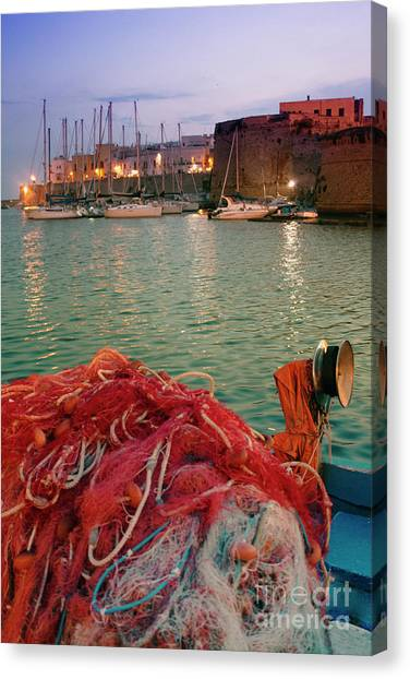 Fisherman's Net Canvas Print