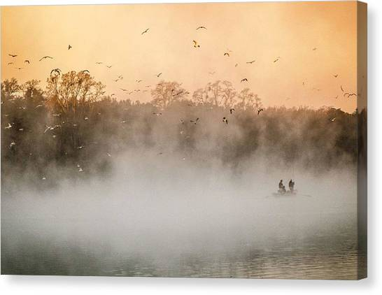 Fisher's Delight  Canvas Print