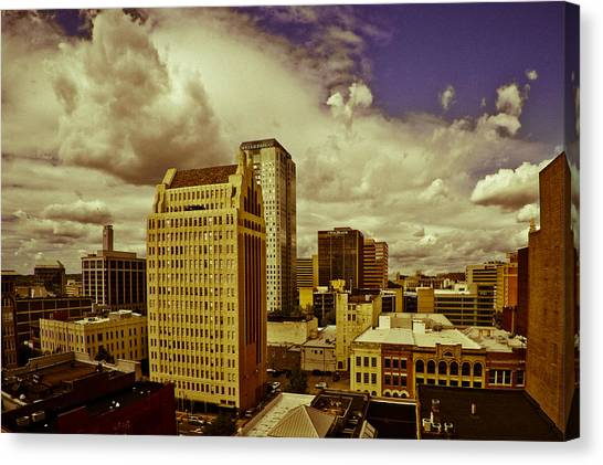 Fisheye Birmingham Canvas Print