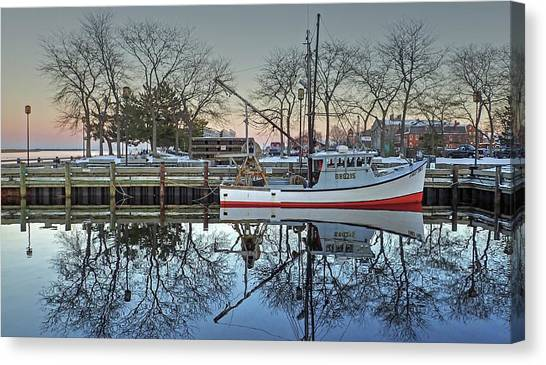Fishing Boat At Newburyport Canvas Print