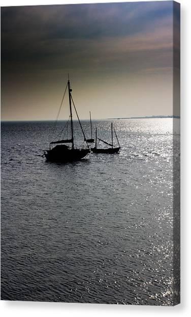 Fishing Boats Essex Canvas Print