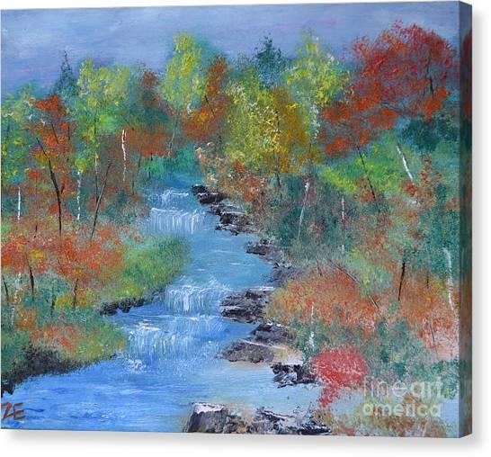 Fishing Creek Canvas Print
