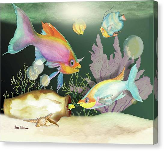 Fishing Expedition Canvas Print