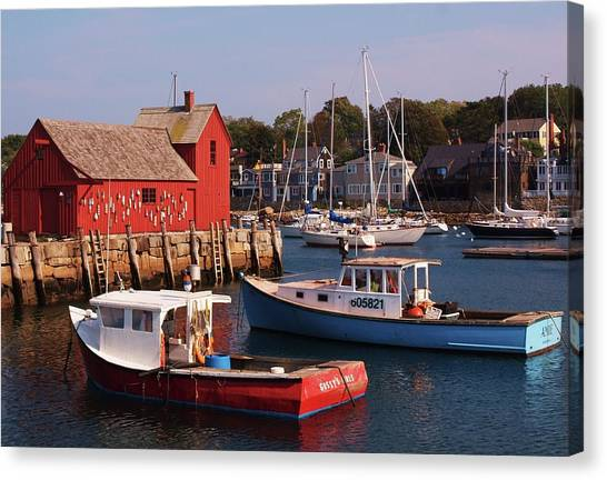 Fishing Shack Canvas Print