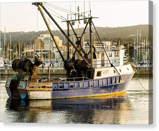 Fishing Trawler Canvas Print