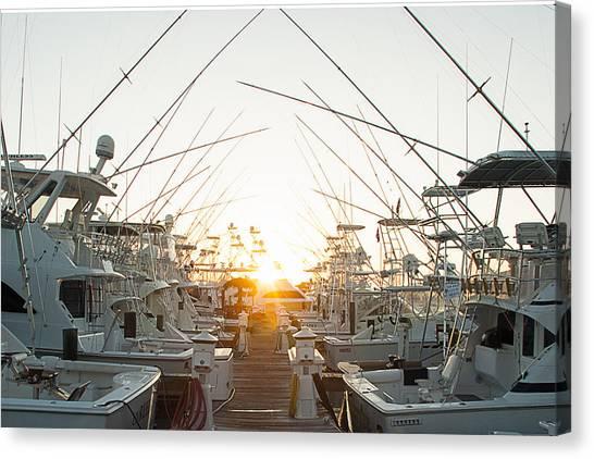 Fishing Yachts Canvas Print