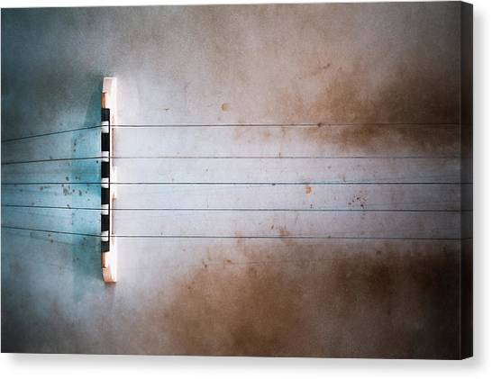 Banjos Canvas Print - Five String Banjo by Scott Norris