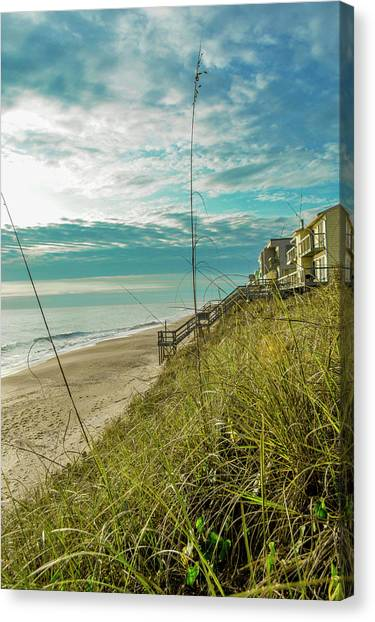 St Aug Beach Canvas Print