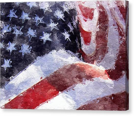 Flag Canvas Print