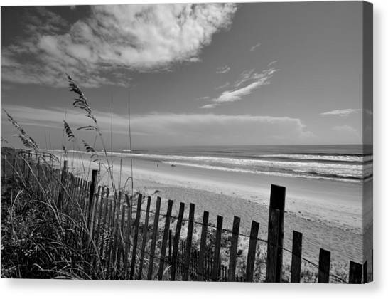 Flagler Beach Canvas Print - Flagler Beach View by Andrew Armstrong  -  Mad Lab Images