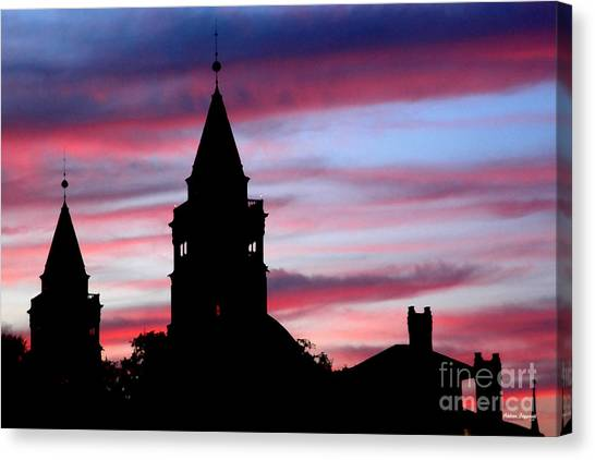 Flagler Towers Canvas Print by Addison Fitzgerald