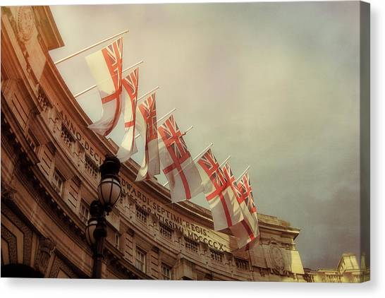 Flags Of London Canvas Print by JAMART Photography