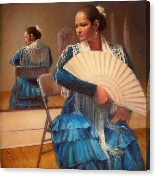 Flamenco 1 Canvas Print