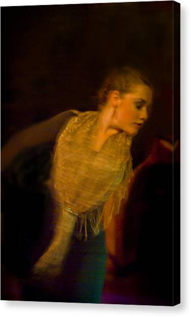 Canvas Print featuring the photograph Flamenco Series 23 by Catherine Sobredo