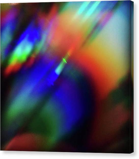 Art Movements Canvas Print - Flameout by Liz Mamorsky