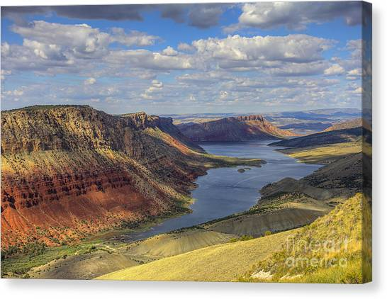 Flaming Gorge Canvas Print