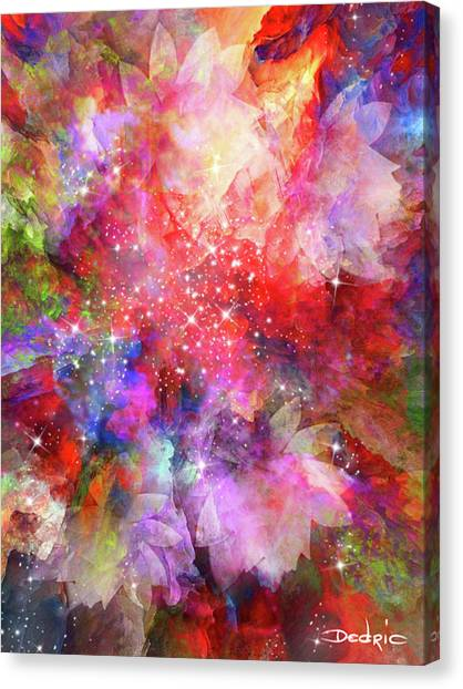 Flammable Imagination  Canvas Print