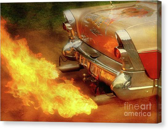Flam'n Canvas Print