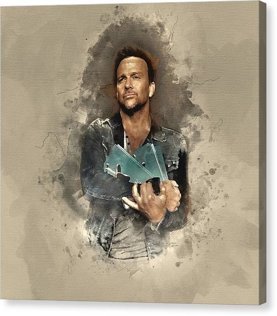 Flanery And Jane Canvas Print