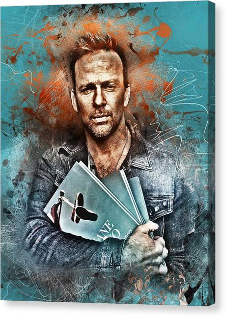 Flanery's Love Story Canvas Print