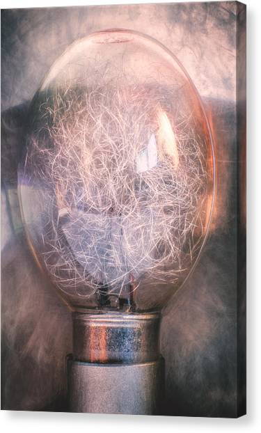 Flash Canvas Print - Flash Bulb by Scott Norris