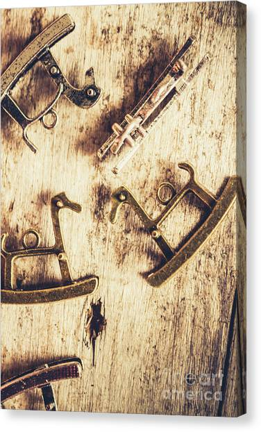 Wooden Canvas Print - Flashback From The Wooden Toy Box by Jorgo Photography - Wall Art Gallery