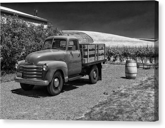 Flat Bed Chevrolet Truck Dsc05135 Canvas Print