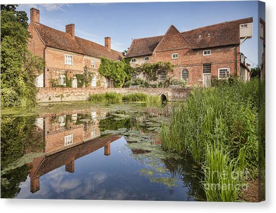 Dedham Canvas Print - Flatford Mill by Colin and Linda McKie