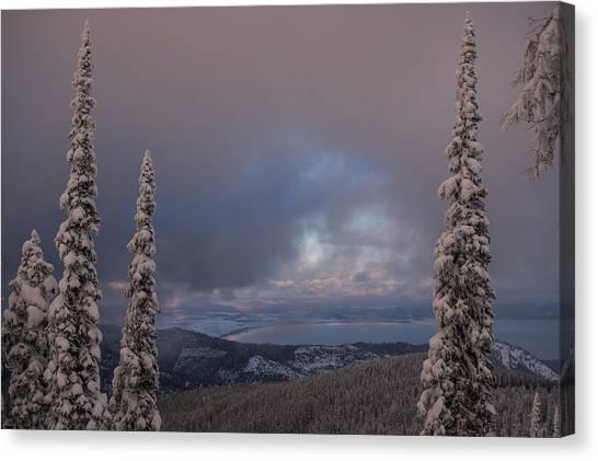 Flathead Winter 2016 Canvas Print